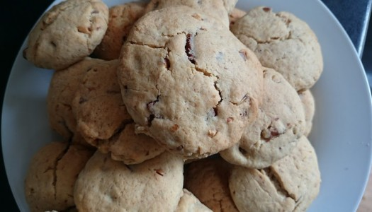 Peanut Butter, Walnut and Chocolate Chip Cookie Recipe