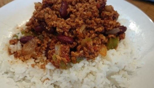 Vegetarian Chilli Recipe
