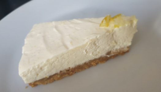 Lemon No Bake Cheesecake | Recipe